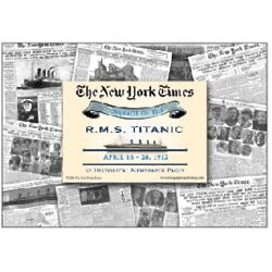 The Titanic Tragedy Covered by The New York Times Reprint