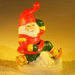 Ceramic Santa Claus Figurine
