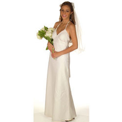Custom Wedding Linen Dress