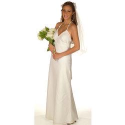 Custom Wedding Linen Dress
