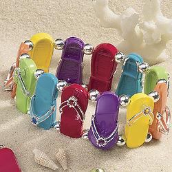 Flip Flop Stretch Bracelet