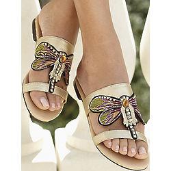 Bijou Dragonfly Sandals