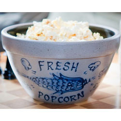 Rowe Pottery Popcorn Bowl
