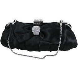 Bow Frame Clutch Handbag