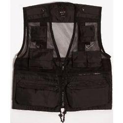 Black Mesh Recon Vest