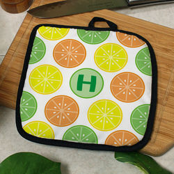 Personalized Citrus Pot Holder