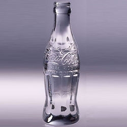 Coca-Cola Crystal Bottle
