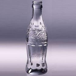 Coca-Cola Crystal Bottle