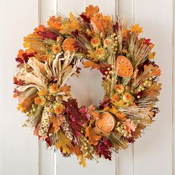 "Fall Harvest 16"" Wreath"
