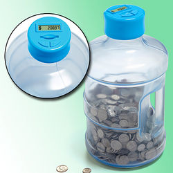 Supersized Digital Counting Coin Bank
