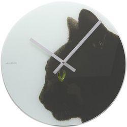 Contemporary Art Cat Clock