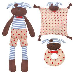 Boxer the Dog 3-Piece Baby Gift Set