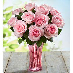 Fresh Market Garden Pink Rose Bouquet