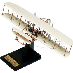 Wood Wright Flyer Model Airplane