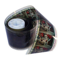 70mm Developed Film Strip