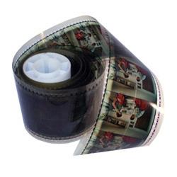 70mm Developed Film Strip