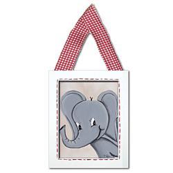 Elephant Framed Giclee Hanging Wall Art