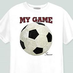 My Game-Soccer T-Shirt