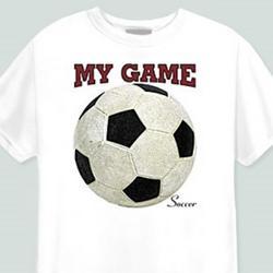 My Game-Soccer T-Shirt