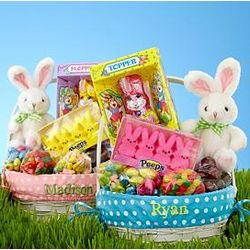 All In One Personalized Easter Gift Basket