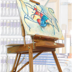 French Easel and Art Supplies Gift Set