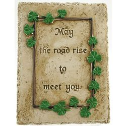 May the Road Rise Garden Plaque