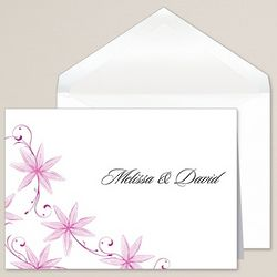 Vintage Blooms Thank You Notes