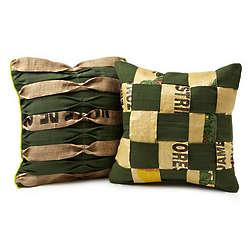Hand-Woven Guatemalan Pillow Cover