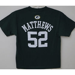 Green Bay Packers Matthews Youth T-Shirt