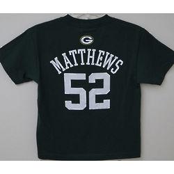Green Bay Packers Matthews Youth T-Shirt