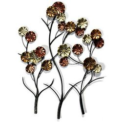 Metallic Tree Wall Decor