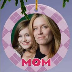 Personalized Mom Photo Ornament
