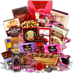 Gourmet Chocolate Goodies Gift Basket