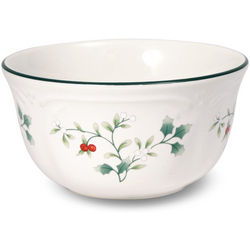 Winterberry Dessert Bowl