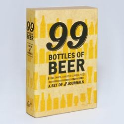 Pocket-Sized 99 Beer Journal Set