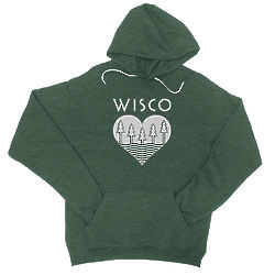 Adult's Wisco Roots Pullover Hoodie