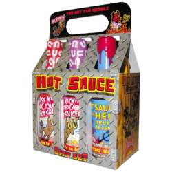 Hot Sauce 6 Pack Gift Set