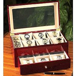 Cherrywood Watch Storage Case