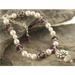Flower Girl or Bridesmaid Bouquet Bracelet