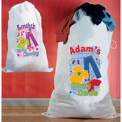 Personalized Kids Laundry Bag