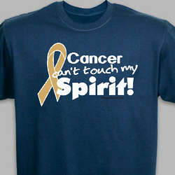 Hope Gold Ribbon Childhood Cancer T-Shirt