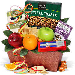 Treats From the Orchard Mini Fruit Gift Basket