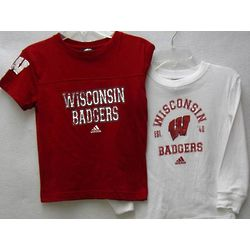 Pre-School Boy's Wisconsin Badgers Layered T-Shirts