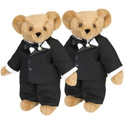 Groom-Groom Wedding Teddy Bears