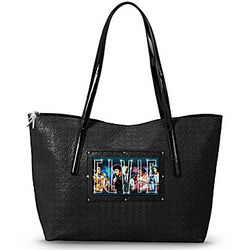 Light Up the Night with Elvis Tote Bag