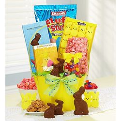 Happy Easter Treats Gift Basket