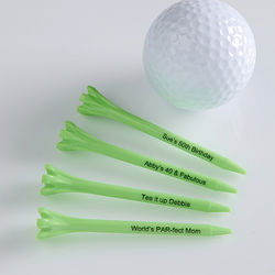 Personalized Eco-Friendly Golf Tees