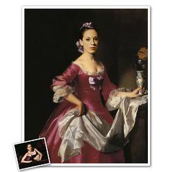 Classic Painting Mrs. Watson Personalized Print