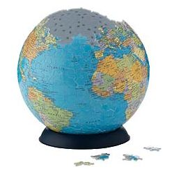The Earth Puzzle Ball