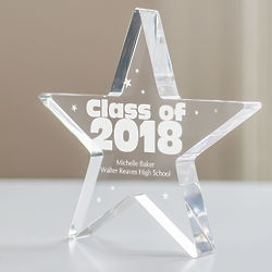 Personalized Class of Star Keepsake